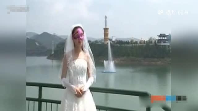 实拍少女身穿婚纱向王宝强表白:她不要你我要你