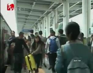 国庆假期结束 吉安市迎来返程客流高峰